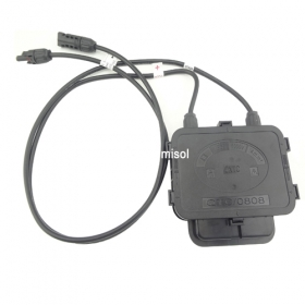 MISOL 1PCS JUNCTION BOX for SOLAR CELLS PANELS, 15AMP, with MC4 connector, with 90cm cable PTV-JCB-0808-1