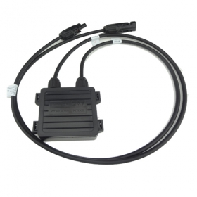 MISOL 1PCS JUNCTION BOX for SOLAR CELLS PANELS, 6AMP, with MC4 connector, with 90cm cable