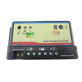 MISOL Solar Regulator 10A 12/24V, solar charge controller, pwm,battery charging, SCC-EPIP-C10