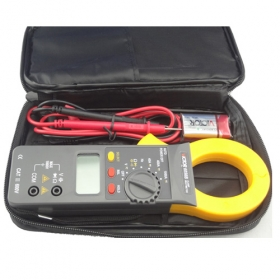 MISOL Digital Clamp Meter DC/AC 1000A AC750V DC1000V Power 9V, clamp multimeter