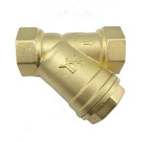 "MISOL 1 pcs of 3/4"" DN20 Brass Y Type Strainer Valve Connector Fitting"