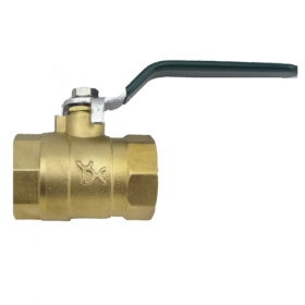 "MISOL 10 pcs of Brass ball valve, 1"", 2 way DN25"