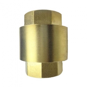 MISOL 10 UNITS OF BRASS NON RETURN VALVE Vertical DN20 CHECK VALVE for water oil air