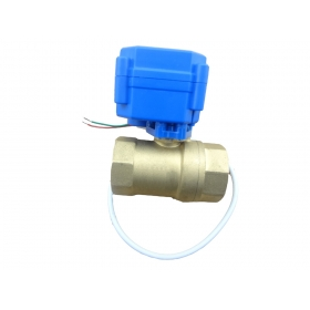 MISOL 10 UNITS motorized ball valve DN15, 2 way, electrical valve