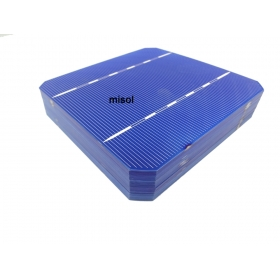 MISOL 10 pcs of Mono Solar Cell 5x5 2.80w, GRADE A, for DIY solar panel, monocrystalline cell