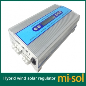 MISOL Hybrid Wind solar charge controller, Solar Charge Controller, wind regulator, 12V 24V wind charge controller