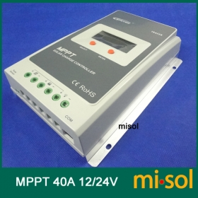 MISOL Tracer MPPT Solar regulator 40A, 12/24v, Solar Charge Controller 40A, NEW