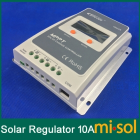 MISOL Tracer MPPT Solar regulator 10A, 12/24v, Solar Charge Controller 10A, NEW