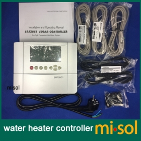 MISOL 110V controller of solar water heater with 5 sensors, for separated pressurized solar hot water system