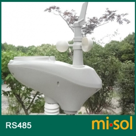 MISOL/weather station with RS485 port, 2 wires cable, with cable length (10 meter)