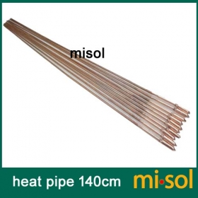 MISOL 10 pcs/lot of copper heat pipe (140cm), for solar water heater, solar hot water heating