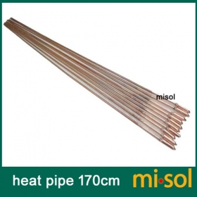 MISOL 10 pcs/lot of copper heat pipe (170cm), for solar water heater, solar hot water heating