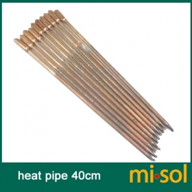 MISOL 10 pcs/lot of copper heat pipe (40cm), for solar water heater, solar hot water heating