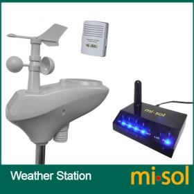 MISOL/IP OBSERVER Solar Powered Wireless Internet Remote Monitoring Weather Station