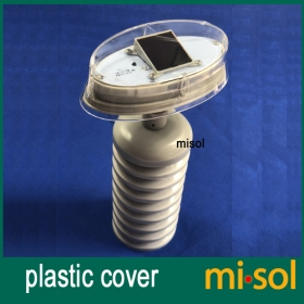 MISOL/plastic outer shield for thermo hygro sensor, spare part for weather station (Transmitter/thermo hygro sensor), with solar
