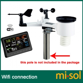 MISOL/Wireless weather station connect to WiFi, upload data to web wunderground