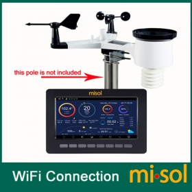 MISOL/Wireless weather station connect to WiFi, upload data to web (wunderground)