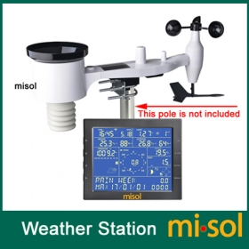 MISOL /Wireless weather station connect to WiFi, upload data to web (wunderground)